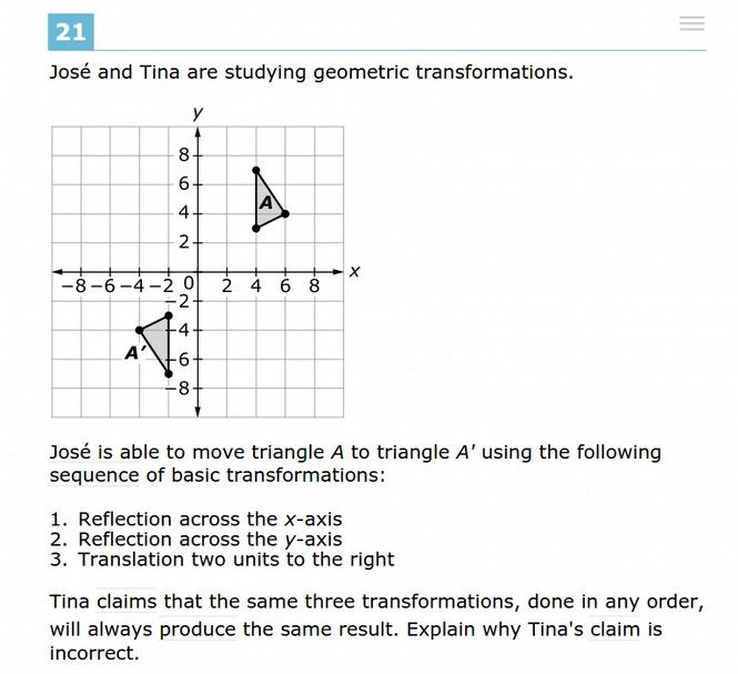 Take The SBAC 11th Grade Practice Math Test
